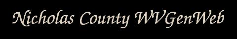 WVGenWeb Nicholas County